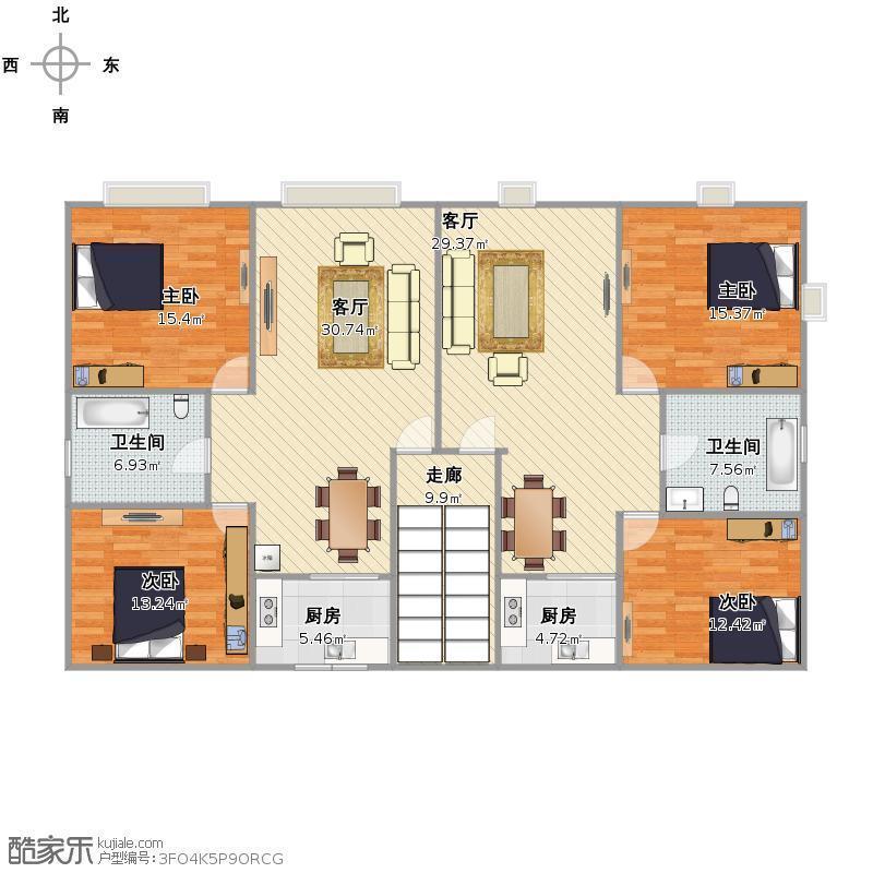 求户型建议,出租房和自住房的建议.