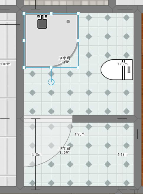 卫生间马桶下水位置太靠中间