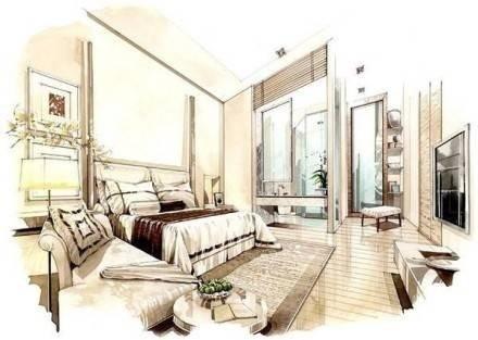 【分享】手绘室内效果图的三个方法,设计师必看