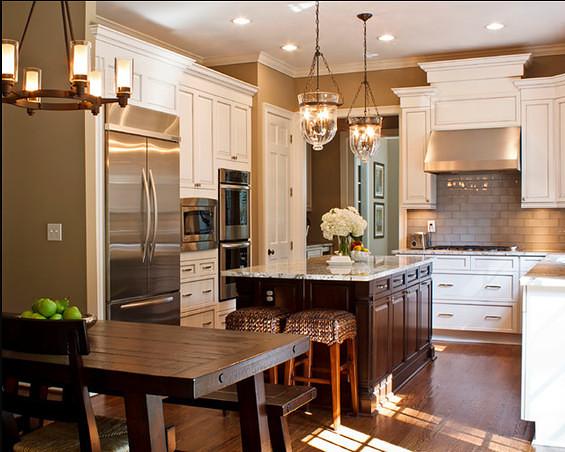 我家厨房和餐厅怎么设计,面积比较小图片