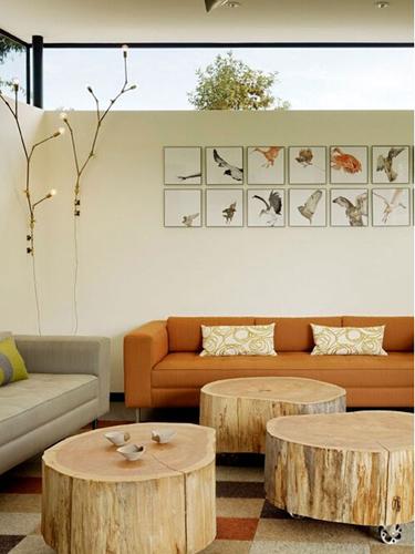 马蹄室内设计论坛的设计案例,打造明亮客厅