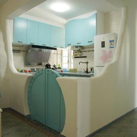 厨房隔断效果图