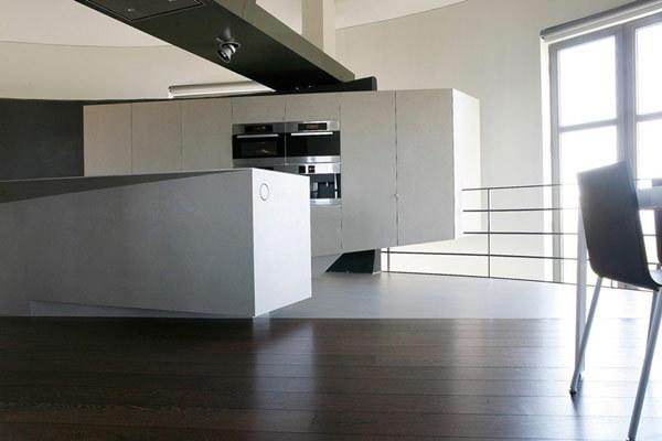 现代风格的水塔改造公寓