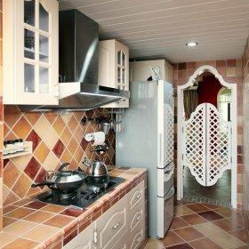 地中海厨房效果图