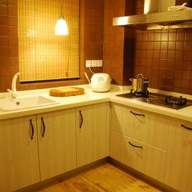 现代简约厨房收纳效果图