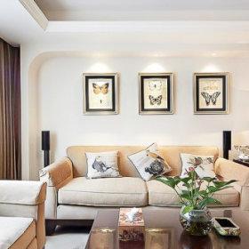 125方现代美式三居