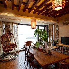 东南亚餐厅吊顶图片