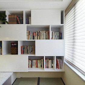 书房榻榻米效果图