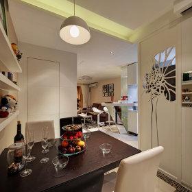 80平现代简约两居室