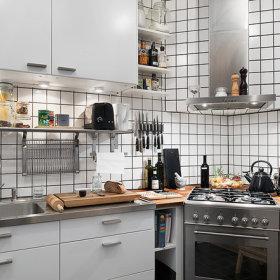 北欧厨房装修效果展示