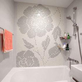 卫生间背景墙装修案例