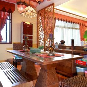东南亚餐厅吊顶案例展示