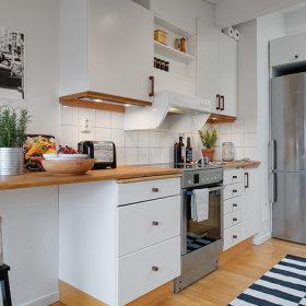 北欧厨房收纳设计案例