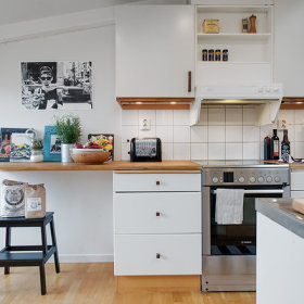 北欧厨房图片