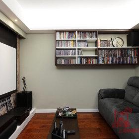 124平现代简约三居室