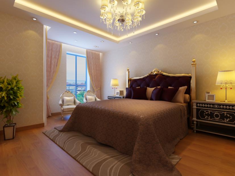 欧式卧室装修效果图 次卧
