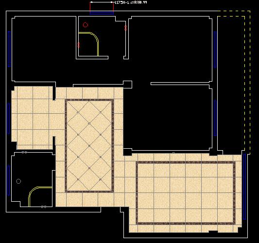 平面地砖设计图