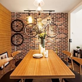 北欧餐厅背景墙设计案例展示