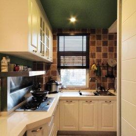 美式乡村厨房设计案例展示