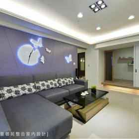 客厅背景墙效果图