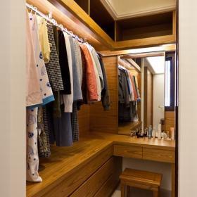 步入式衣柜装修案例