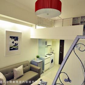 20方现代简约一居室