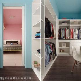 步入式衣柜设计方案