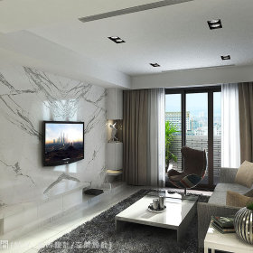 客厅电视墙设计图