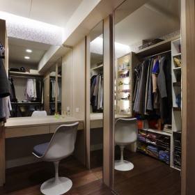 现代简约卧室收纳设计图