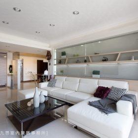 现代简约客厅沙发装修图