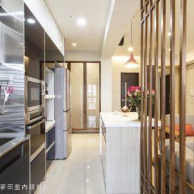 现代简约厨房隔断设计图