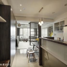 现代简约厨房隔断设计方案