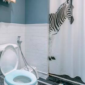 简欧卫生间设计案例展示