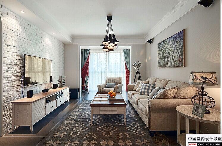 eios3q&id=8995158669   客厅:北欧简约宜家风格,浅灰色墙漆,亚光瓷砖图片