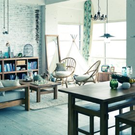 日式客厅收纳设计图