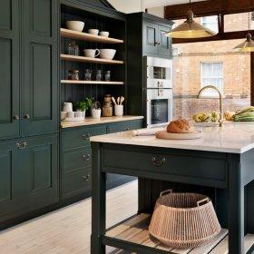 美式乡村厨房收纳设计案例展示