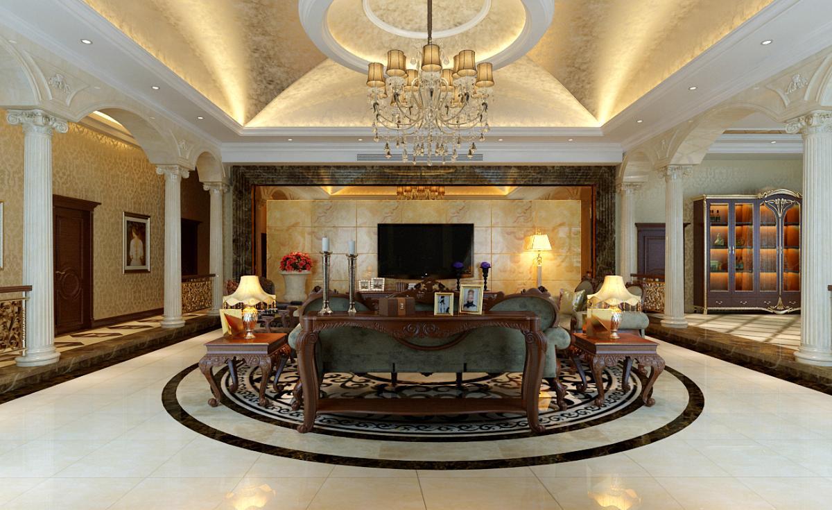 别墅欧式风格装修设计图片