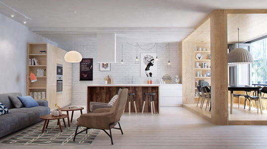 创意书房设计使书房犹如一首旋律优美的乐曲,让书房更加有活力,让工作