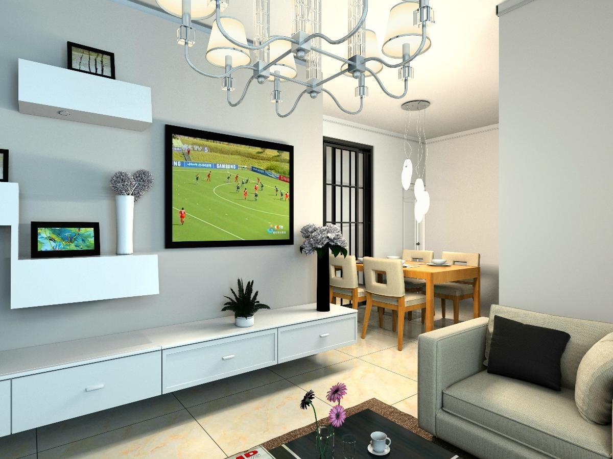 电视背景墙,如何弄才显简单大方