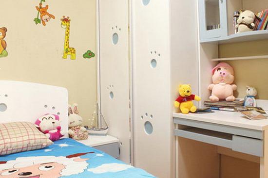 欧式儿童卧室装修效果图图片