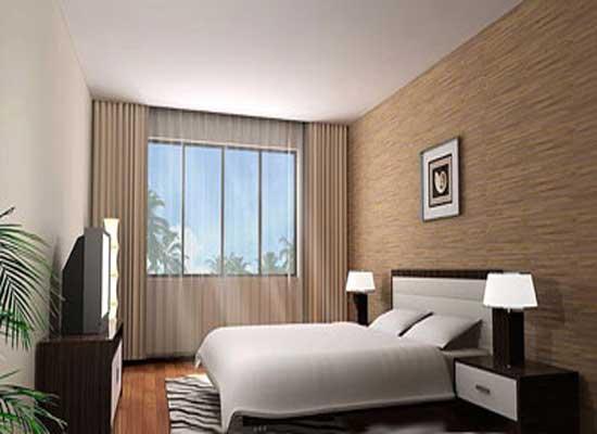 背景墙 房间 家居 酒店 设计 卧室 卧室装修 现代 装修 550_400