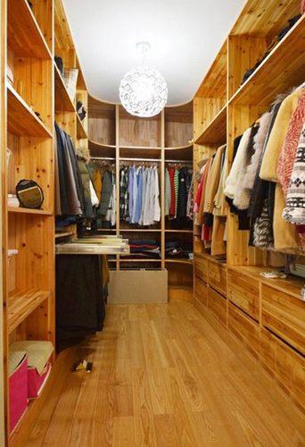 衣柜效果图 十款简约装修衣帽间超实用
