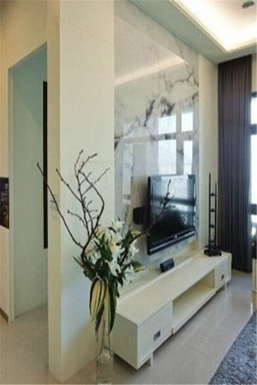 美观时尚 16个客厅电视背景墙隔断设计图片