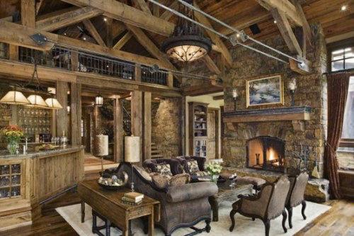 质素自然美式乡村风格 10款客厅装修效果图