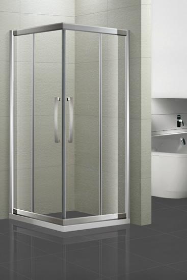 科勒kohler纳帝奥圆弧形淋浴房     玻璃门采用6mm钢化玻璃,安全