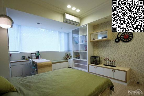 中式儿童房背景墙装修效果图大全图片