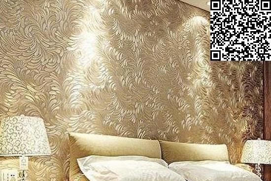 刚好搭配这样的墙纸.同时绿色的窗帘又会有种时尚小清新在里面.