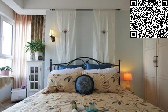 欧式风格卧室装修效果图大全2014图片