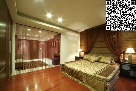 最新中式卧室装修效果图大全