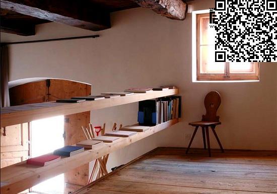 书房装修效果图 给家增添淡雅气息